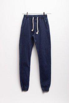 Джогери чоловічі джинсові Club Ju XXL темно-синій (880)