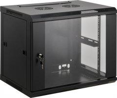 Шкаф настенный серверный Kingda KD-007-6606 6U (KD-007-6606)