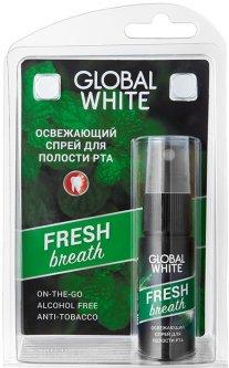 Освежающий спрей для полости рта Global White Fresh 15 мл (2021012512321)