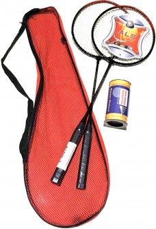 Ракетки для бадминтона Qunxing Toys красные (KR-2165-3)