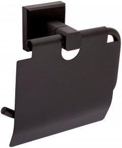 Держатель для туалетной бумаги AQUA RODOS Leonardo 9926 черный матовый