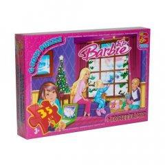 Пазлы Барби Gtoys Рождество 35 элементов BA012