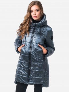 Пальто-пуховик Milhan 1875 XS Дымчатое (2000000035925)