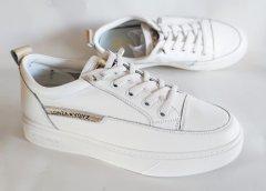 Кеди LONZA 2216 white/gold 212002 40 25 см