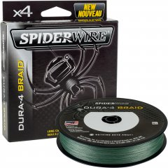 Шнур Spider Wire Dura 4 Moss ESD4G-DURA4 150 м 0.14 мм 11.8 кг Green (1450379)