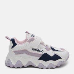 Кроссовки детские Kimboo ZY801-2F 30 19 см Бело-розовые (ROZ6400043435)