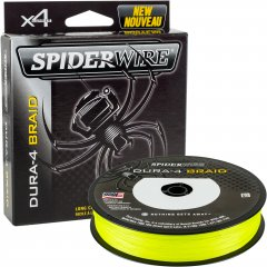 Шнур Spider Wire Dura 4 ESD4Y-DURA4 150 м 0.25 мм 23.2 кг Yellow (1450409)