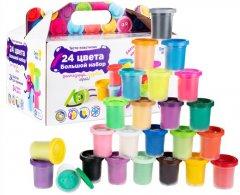 Набор для детской лепки Genio Kids Тесто-пластилин 24 баночки (TA1097) (4814723008559)
