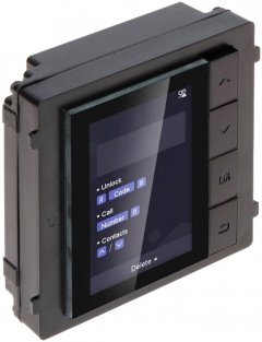 Модуль с монитором Hikvision DS-KD-DIS