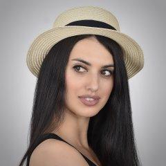 Шляпа SumWin 39354-02 54 -57 см Светло-бежевая