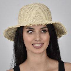 Шляпа SumWin ШС-121-02 54-57 см Светло-бежевая