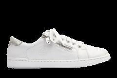 Кеди жіночі Rieker 36 білий (L2721-80/36/ЦО0002698)