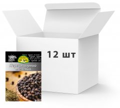 Упаковка перца черного Dr.IgeL молотый 20 г х 12 шт (34820155170208)