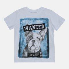 Футболка Coccodrillo Everyday Dog WC1143202EDG-001 164 см Белая (5904705494063)