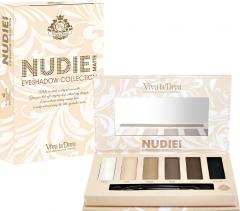 Палетка теней для век Viva la Diva Matte Eyeshadow Palettes Nudie 9 г (7330906015000)