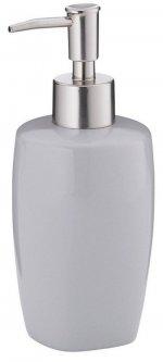 Дозатор для жидкого мыла KELA Landora 400 мл (20407) серый