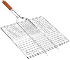Решетка гриль BBQ плоская мини 58 х 34 х 22 см (MH-0160)