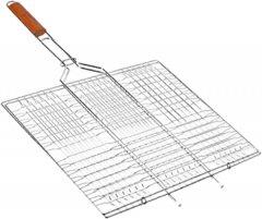 Решетка гриль BBQ плоская средняя 58.5 х 40 х 30 см (MH-0162)