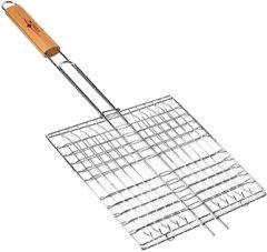 Решетка гриль BBQ плоская мини 55 х 27 х 24 см (MH-0088)