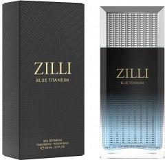 Туалетная вода для мужчин Zilli Blue Titanium 100 мл (3760040118024)