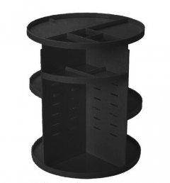 Органайзер пластиковый для косметики Uydas plastik вращение 360 градусов 32х23 см Черный (2252414332019)