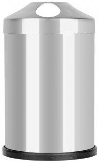 Стакан для зубных щеток Proff Plastik 7.5 х 12 см Серебристый (2601959)