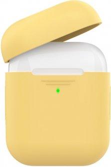 Силиконовый чехол AhaStyle дуо для Apple AirPods Yellow (AHA-02020-YLW)