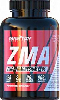 Бустер тестостерона Vansiton ZMA (Магний + Цинк + В6) 120 капсул (4820106592188)