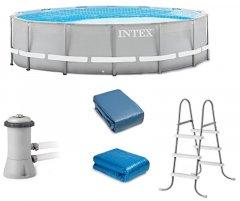Каркасный бассейн Intex 457 х 107 см (26724)