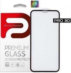 Защитное стекло ArmorStandart Pro Evo для Apple iPhone 11/Xr Black (ARM55370-GP3D-BK)