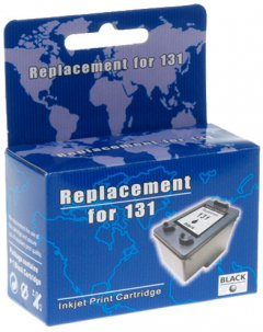 Картридж MicroJet для HP DJ 5743/6543 аналог HP 131 (C8765HE) Black (HC-F33)