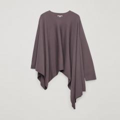 Пончо COS 0722793-9 S Пурпурное (2000001697894)
