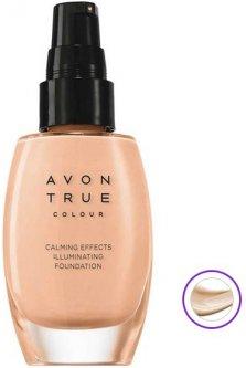 Матирующий тональный крем Avon Спокойное сияние Nude Натуральный с успокаивающим эффектом 30 мл (67010) (ROZ6400106063)
