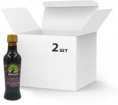 Упаковка соусов соевых Bonsai Premium Бальзамических густых 250 мл х 2 шт (4820172250463)