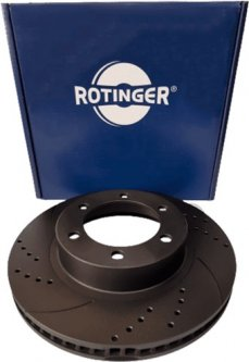 Диск тормозной Rotinger Toyota Land Cruiser, Hilux, 4 Runner 2 шт (RT 20225-GL T5)