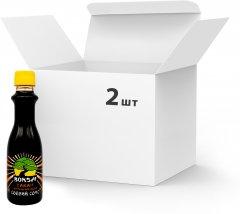 Упаковка соусов соевых Bonsai Тамари с натуральным медом 220 мл х 2 шт (4820210550296)