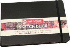 Блокнот для графики Royal Talens Art Creation А5 14.8 х 21 см 140 г/м2 80 листов черный (8712079392970)