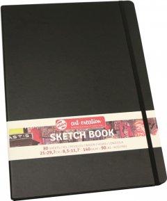 Блокнот для графики Royal Talens Art Creation А4 21 х 29.7 см 140 г/м2 80 листов черный (8712079383510)