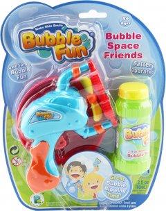 Мыльные пузыри Make Kids Smile Bubble Fun Пистолет 60 мл (DHOBB10239)