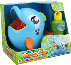 Мыльные пузыри Make Kids Smile Bubble Fun Дельфин 240 мл (DHOBB10227)