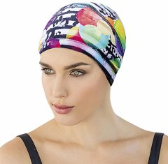 Шапочка для плавания Fashy тканевая Разноцветный (3280)