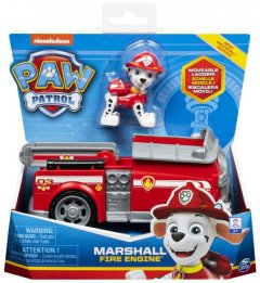 Спасательный автомобиль Spin Master Paw Patrol Щенячий патруль с водителем Маршал (SM16775/9917)