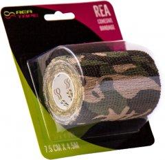 Бинт эластичный REA TAPE Cohesive Bandage 7 см х 4.5 м Камуфляж (REA-Band-camogr)