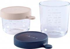 Набор контейнеров Beaba стеклянных для хранения 2 шт 150 мл + 250 мл (912654)