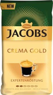 Кофе в зернах Jacobs Crema Gold 1 кг (8711000869567)