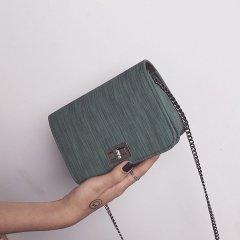 Женская сумка SV через плечо с клапаном 18*14*6cm Зеленый (sv0143)