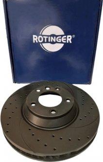 Диск тормозной Rotinger Audi Q7, Porsche Cayenne, VW Touareg (RIGHT)(RT 20207-GL T5)
