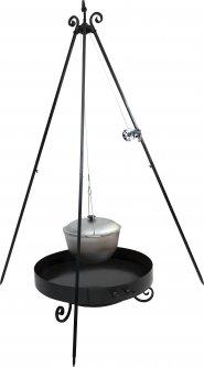 Тринога-гриль Силумин 1.8 м Черный (4820149874623)