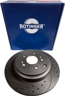 Диск тормозной Rotinger Acura MDX, Honda Pilot (RT 1846-GL T5)