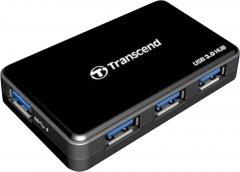 USB-хаб Transcend SuperSpeed USB 3.0 Hub (TS-HUB3K)